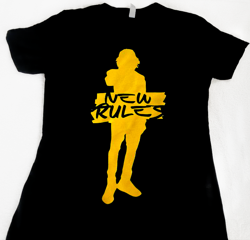 New Rules Female T-shirt - Alkaline Store