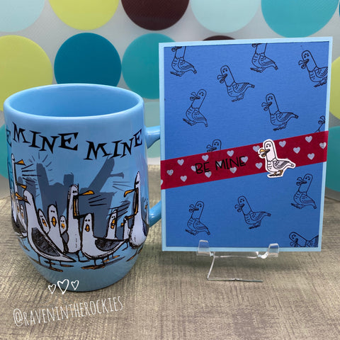 Card & Cup: Be Mine