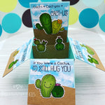 Handmade Card: Cactus box