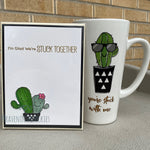 Card & Cup: Stuck Together