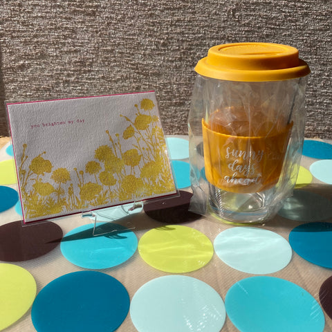 Card & Cup: Brighten My Day