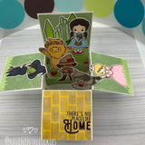 Handmade Card: There's No Place Like Home box