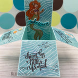 Handmade Card: Mermaid box