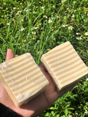 Turmeric Facial Cleansing Bar w/ Coconut Oil and Goats Milk