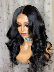 16 inch 4x4 closure 16, 18, 18 Raw Indonesian Size L 22.5-23 - Styled By Zahna