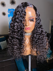 Lily-20 inch curly Indonesian with 4x4 closure - Styled By Zahna