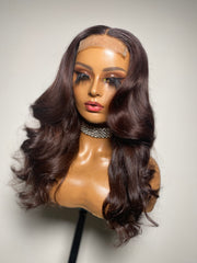 Belle-20x3 with 18inch closure 4x4 Size S 21.21.5 - Styled By Zahna