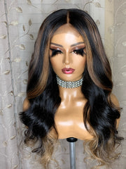 16 inch 4x4 closure 16, 18, 18 Raw Indonesian Size M 22-22.5 - Styled By Zahna