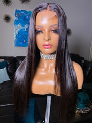 Victoria-20 inch straight Indonesian with 2x6 closure Size Small - Styled By Zahna