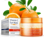 Orange Vitamin C Eyes Masks Whitening Eye Patches Dark Circle