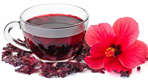 Organic Dried Red Hibiscus Flower| Hand-Picked| Sifted| 100 G - Xclusiv Organics