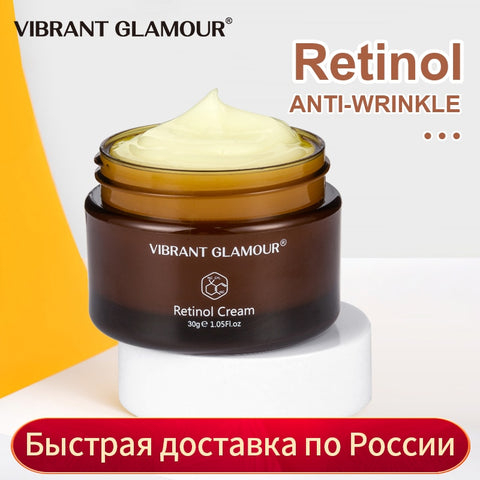 VIBRANT GLAMOUR Retinol Face Cream for whitening,Brightening Moisturizing Facial Skin Care