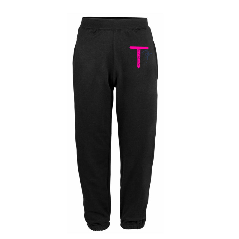 DAZ TEA PARTY BLACK JOGGERS