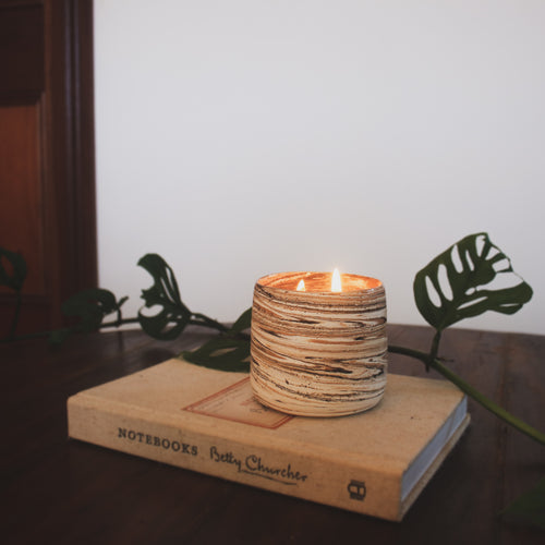 Ceramic Candle - Salted Caramel