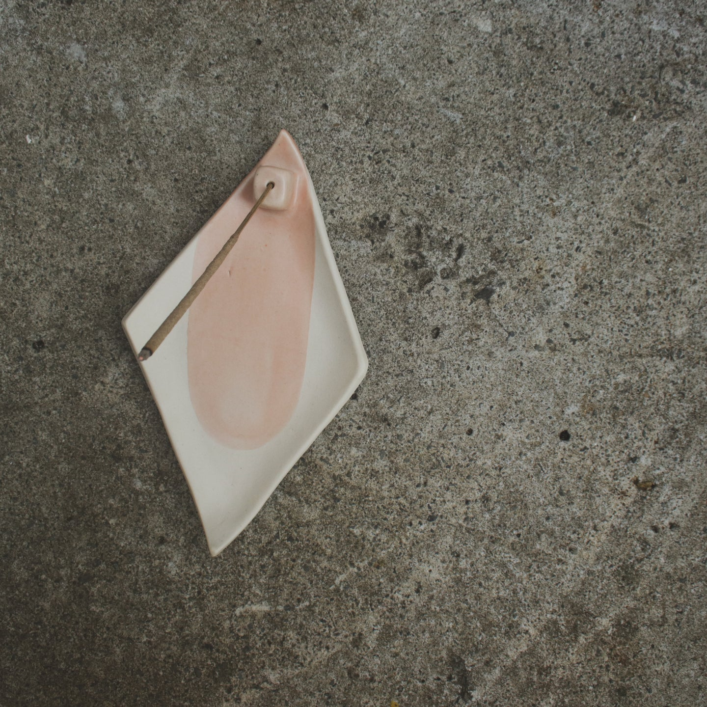Rose Quartz Incense Holder