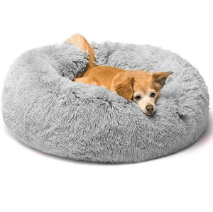 Cozy Calming Dog Bed