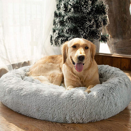 Cozy Calming Dog Bed - Dropers