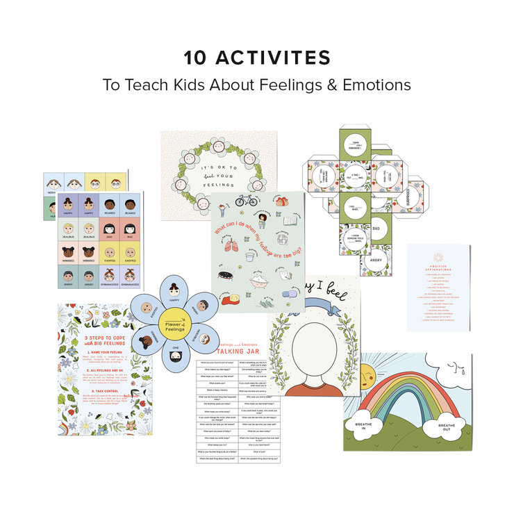 Feelings & Emotions Printable Activity Pack
