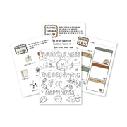 Gratitude Printable Activity Pack