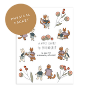 PHYSICAL PACKET: A Kid's Guide to Friendships