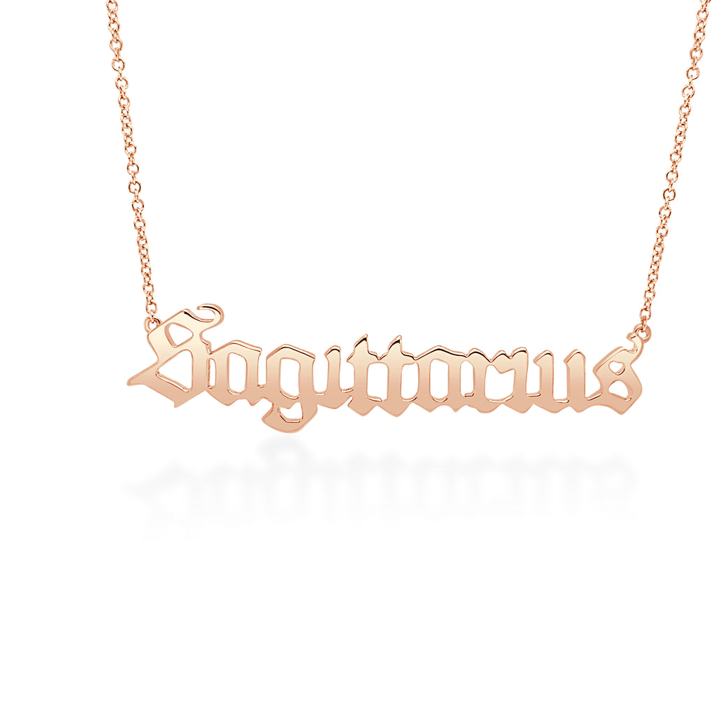 Sagittarius Necklace