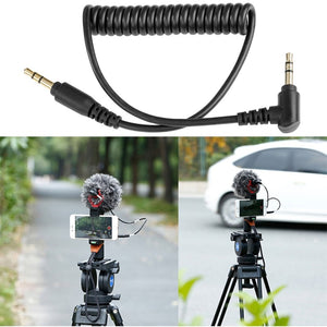 Universal microphone for camera and smartphone