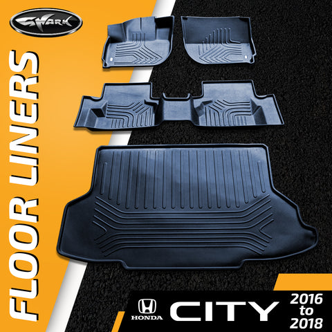 Honda City '16-'18 Floorliner