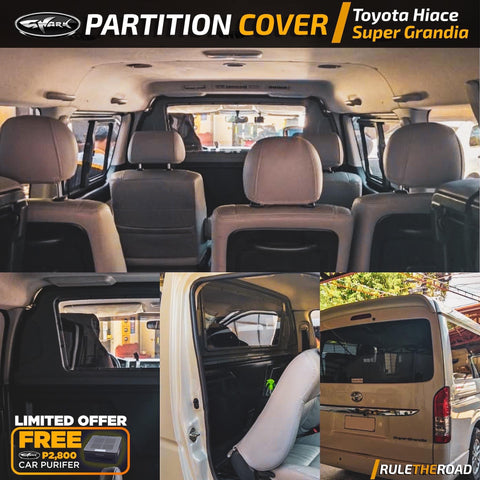 Toyota Hiace Super Grandia 2019 Partition Cover