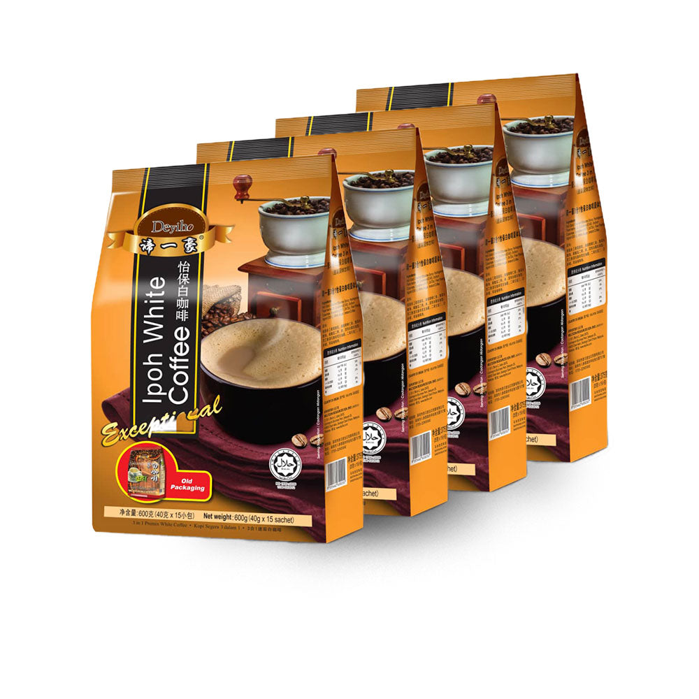 Deyiho 3 in 1 White Coffee (4 Pack)