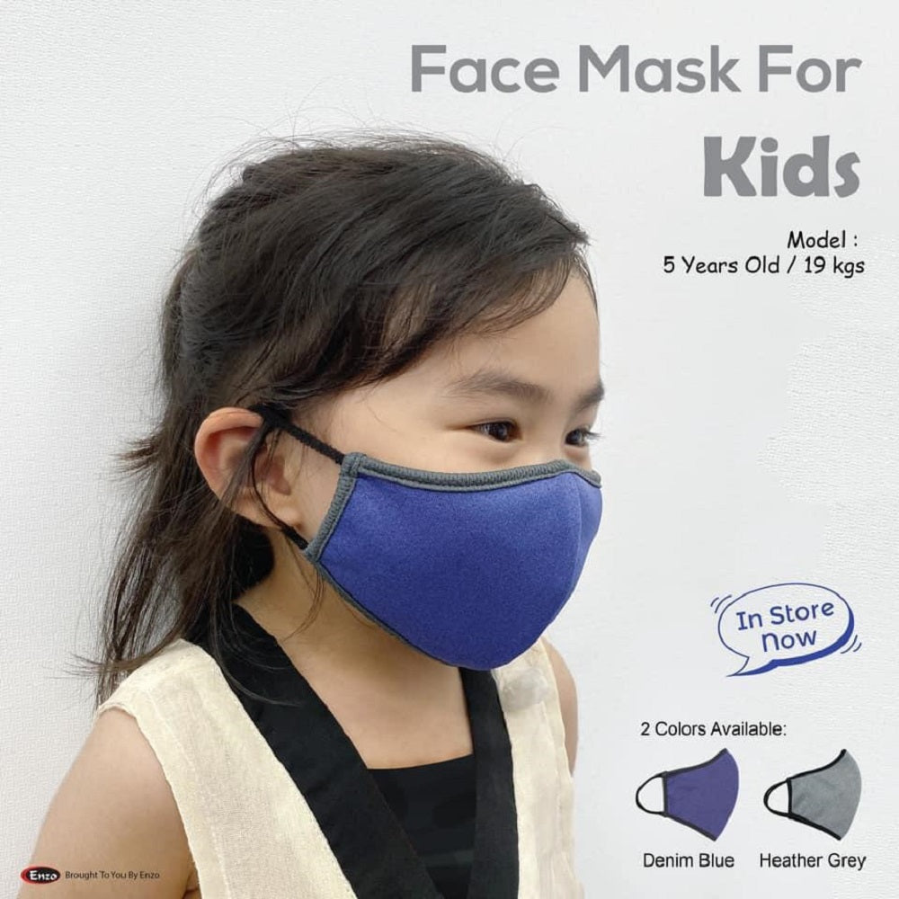 Enzo Washable Mask (For Kids)