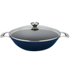 La Cuisine Wok Set with Glass Lid 35cm