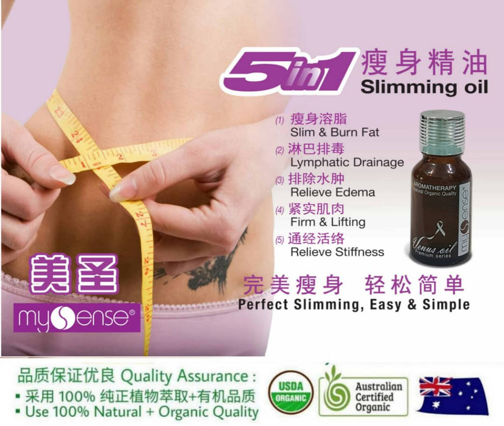 Body Shaping Oil 5 in 1