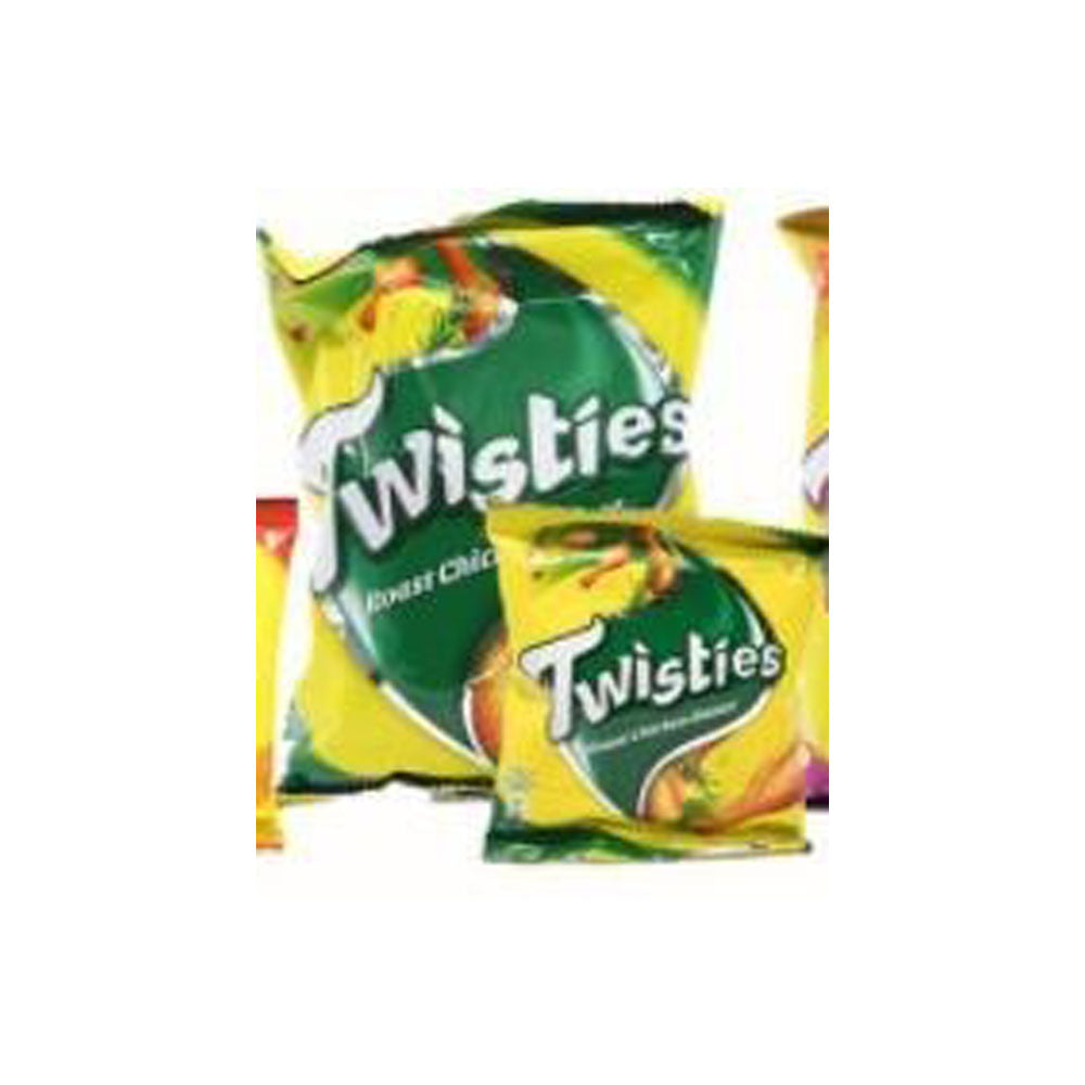 TWISTIES - Per Carton - 65g x 10pkt x 6