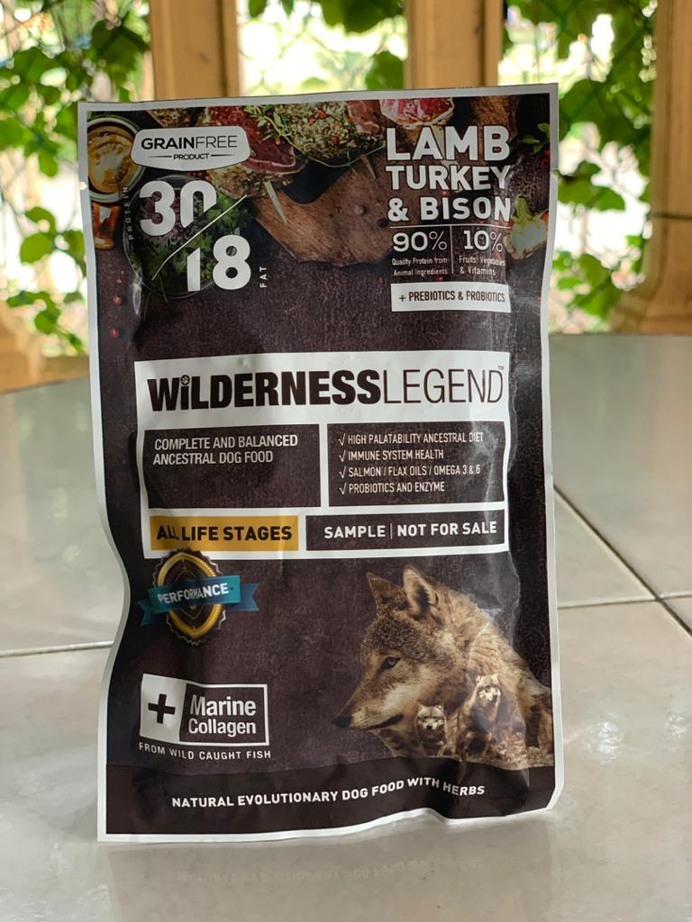 Wilderness Dog Food - Lamb 30/18