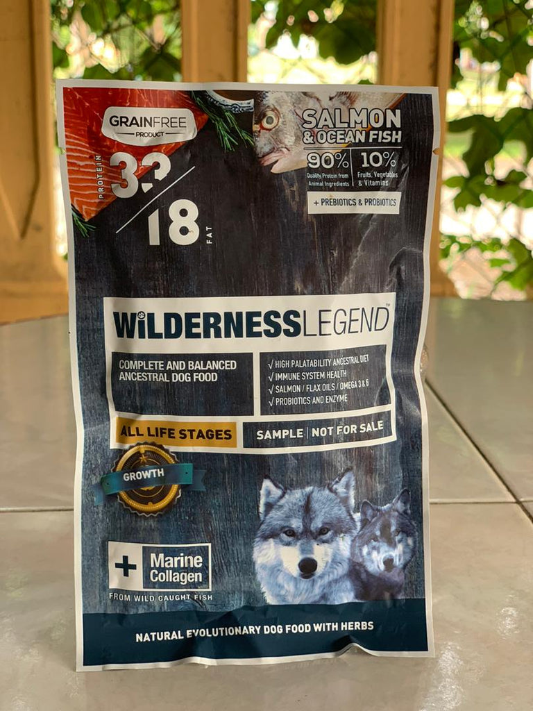 Wilderness Dog Food - Salmon 33/18