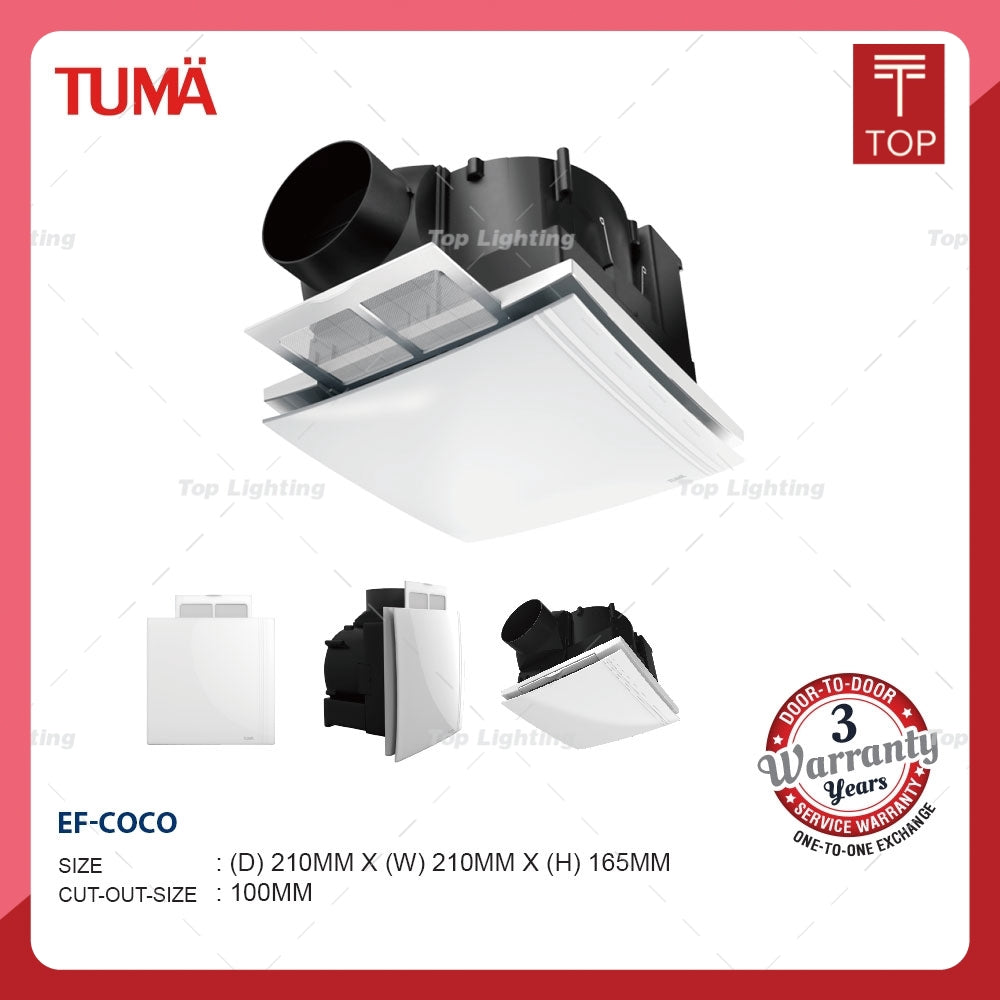 Tuma Coco BVN21A002 Ventilation Fan