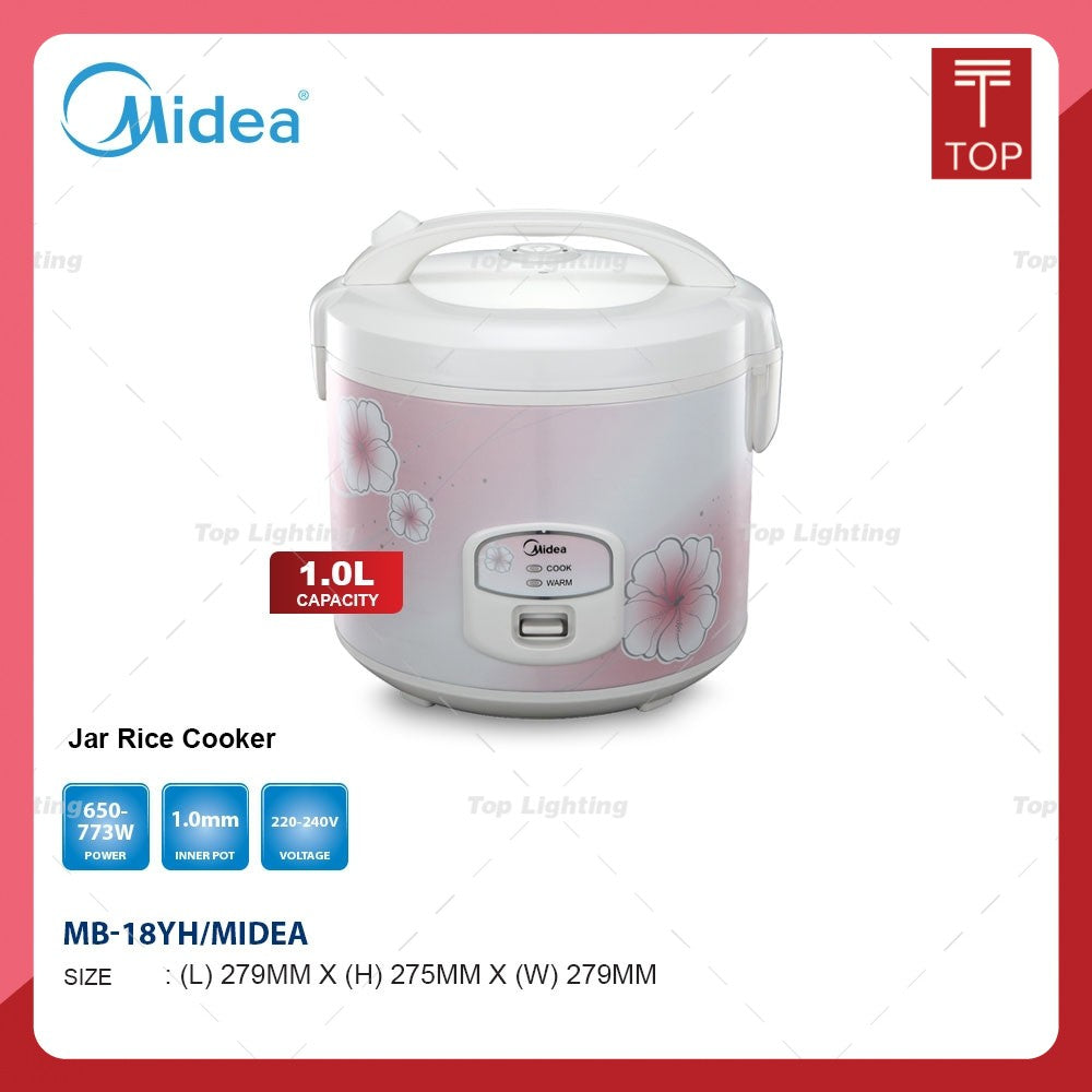 Midea MB-18YH 1.8L Jar Rice Cooker