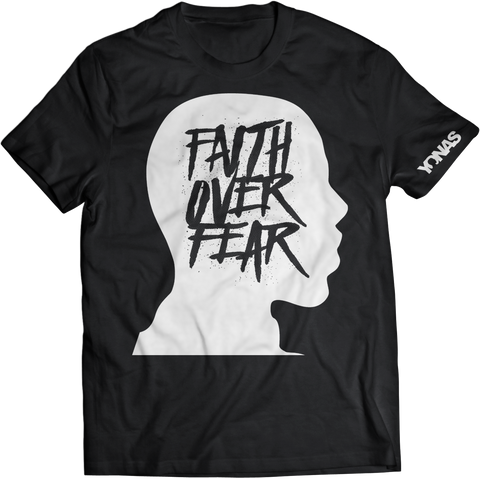 Faith Over Fear T-shirt (Black)