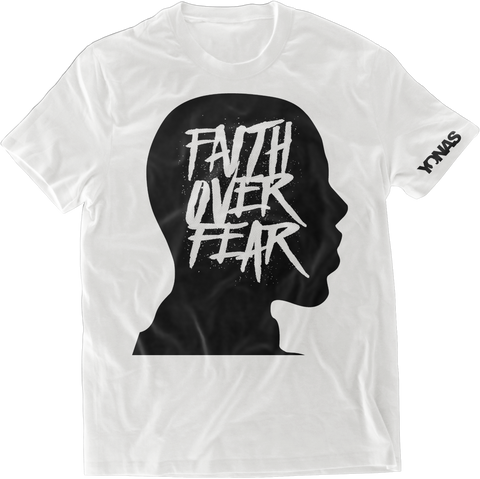 Faith Over Fear T-shirt (White)