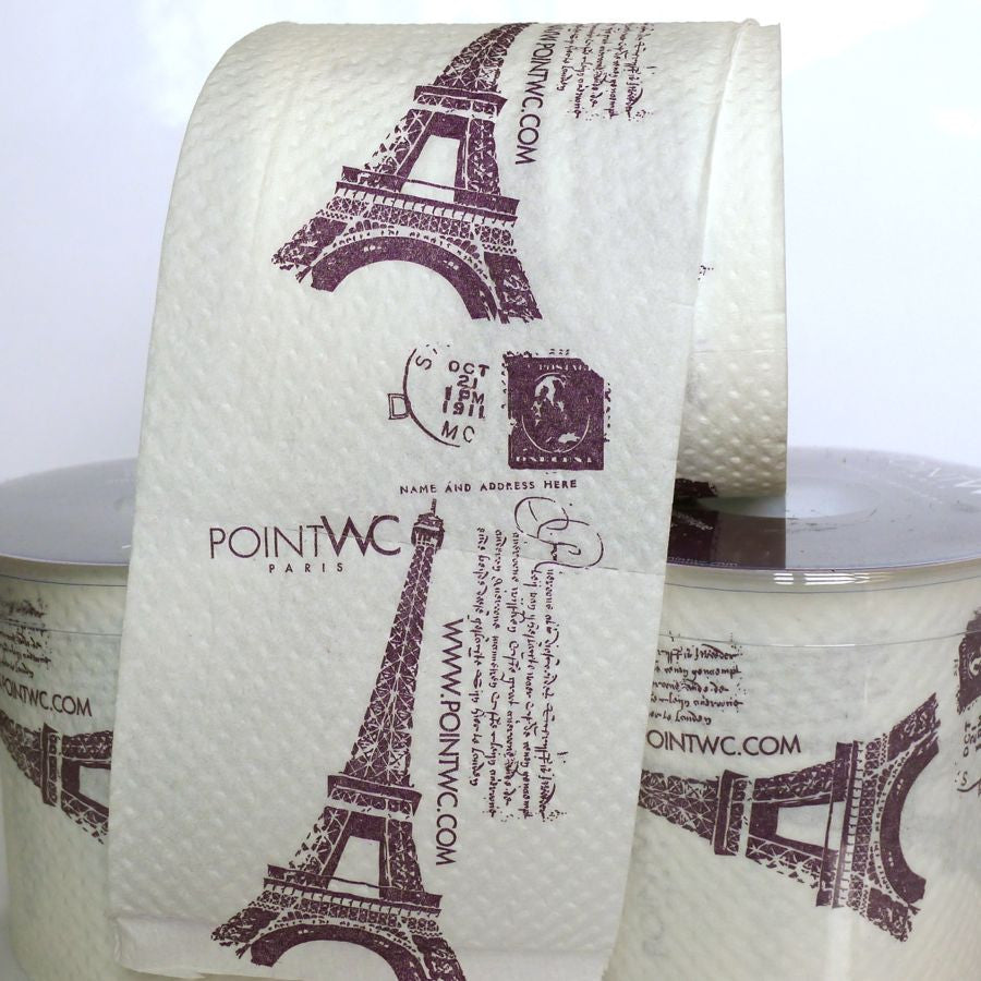 Eiffel Tower Toilet paper