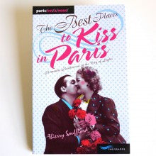 The best places to kiss in Paris book