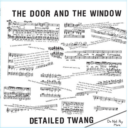 The Door And The Window ‎– Detailed Twang LP