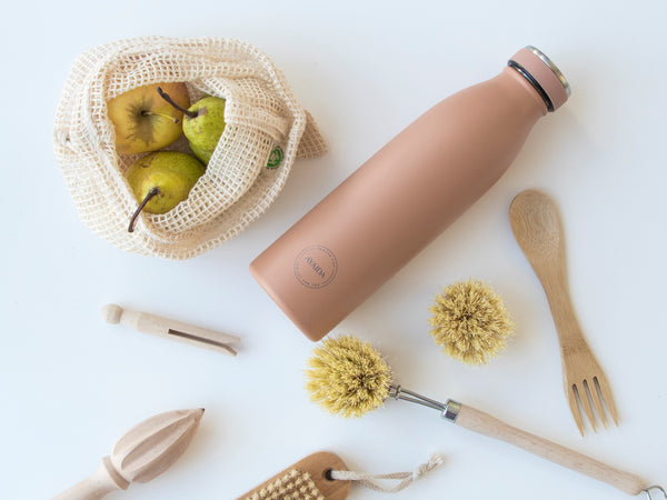 Ayaida Water Bottle - Organic Peach