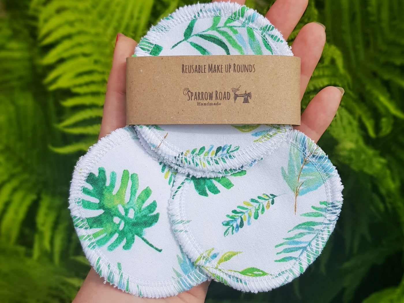 Make Up Remover Pads - Botanical Leaf