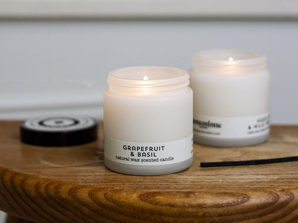 Grapefruit and Basil Travel Candle