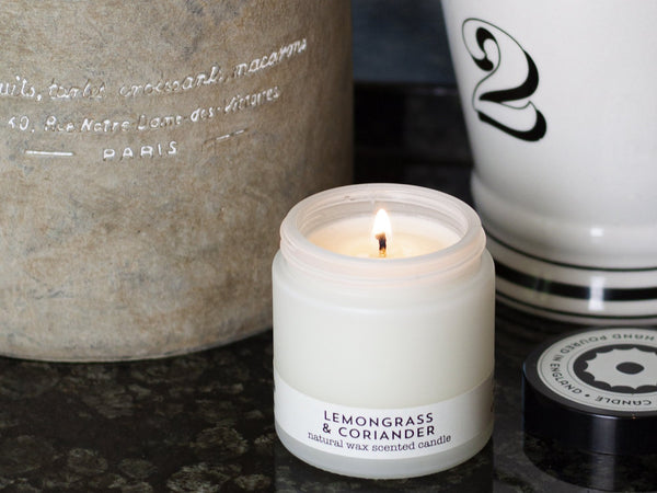 Lemongrass and Coriander Travel Candle
