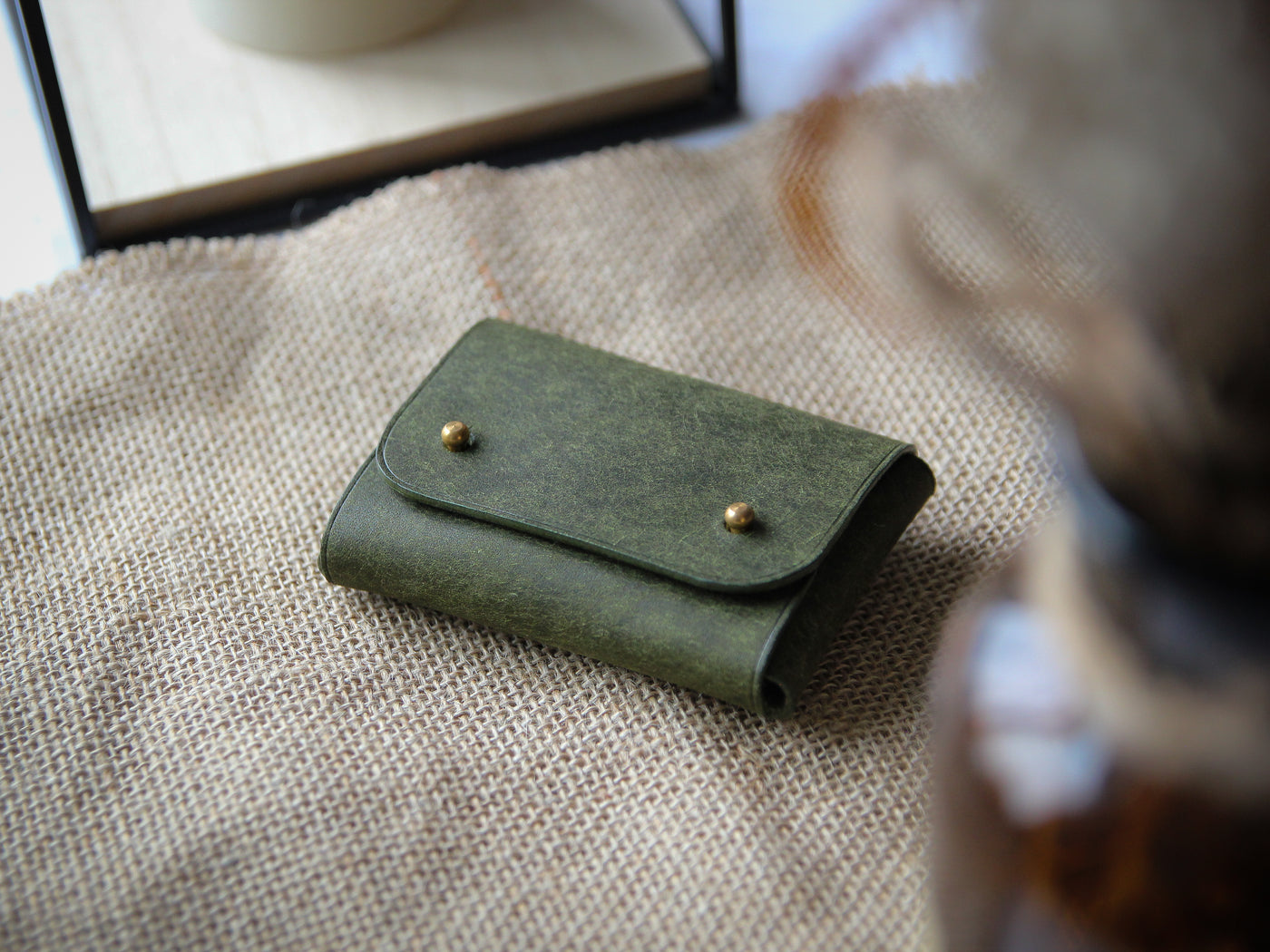 Leather Card Holder - Various Colours