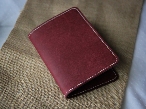 Leather Passport Cover - Various Colours