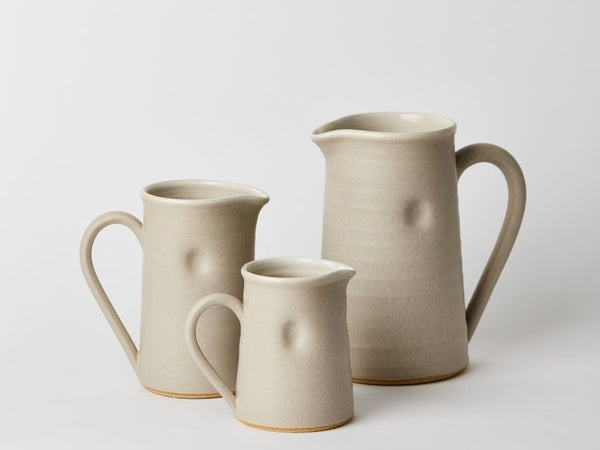 Jug - Large - Pale Grey