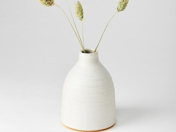Bud Vase Medium - White